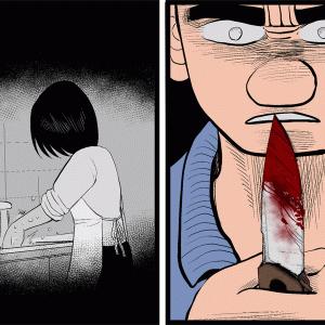 【いじめ+格闘漫画】#40「刃物」