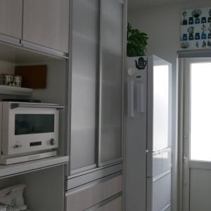 食器棚の中身大公開♪全部出して、スッキリ収納!!キッチンの大物掃除完了しました♡