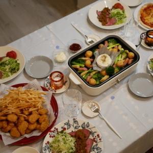 【クリスマス】業スーのおかげ!!手作りケーキ♡scope・Runoで華やかテーブル♡