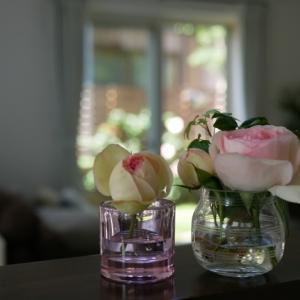 癒される♡憧れのお花のある暮らし…叶いました♪キャンドルホルダーって超絶便利!!