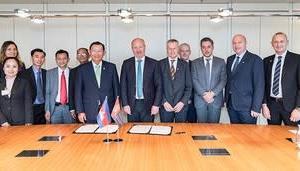 カンボジア 欧州特許庁と協力協定に調印
