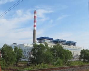 シアヌークビル近郊の石炭火力発電所増設に着工