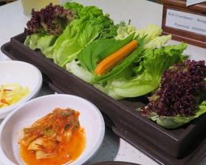 有名チェーン店の韓国料理 本家(Bornga)