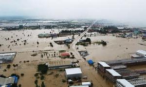 洪水被害広がる2020