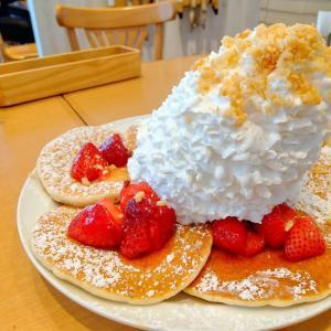 立川のららぽーとでパンケーキ♪エッグスシングスに行ってきました