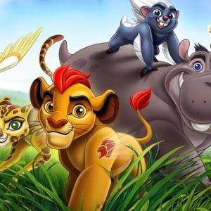 最近の子供(8歳)のお気に入り英語番組はライオン・ガード!