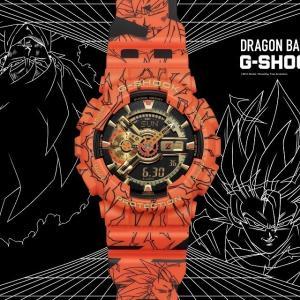 プレ値期待大!【8月1日(土)~17日(金)13時抽選】G-SHOCK x DRAGONBALL「GA-110JDB-1A4JR」