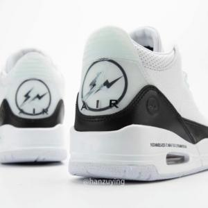 """9月17日(木)発売「fragment design × Nike""""Air Jordan 3 Retro SP """"White/Black""""」"""