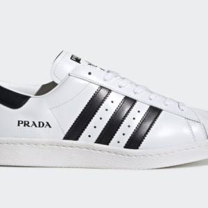 9月8日(火)発売「PRADA adidas Originals SUPERSTAR」