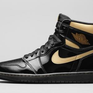 "【11月30日(月)発売】「Air Jordan 1 Retro High OG ""Black Metallic Gold""」"