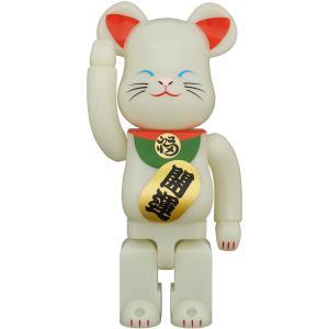 先行発売はすでにプレ値!2021年1月26日(火)12時発売「BE@RBRICK 招き猫 蓄光 弐 100% / 400%」