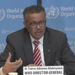 WHO事務局長の辞任求め54万人賛同