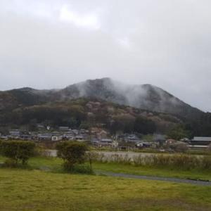 山霧です❗