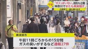 ガスっぽい匂い」 神奈川でまた異臭騒ぎ ついに国も原因究明へ動き出す