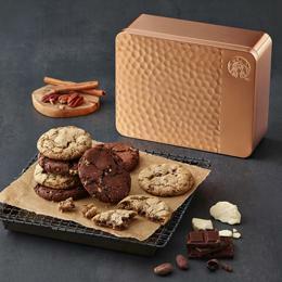 缶入りクッキー大好きな韓国スタバ・・・