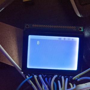 【ラズパイ】【GLCD】ASCII文字を表示する
