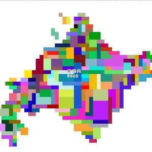 【北海道大戦】人口データを作成・読み込ませる