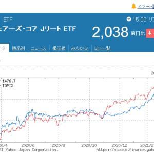 基準価額上昇も分配金は漸減【1476】iシェアーズ・コア Jリート ETFより分配金です。