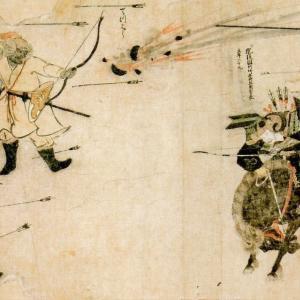 武士『やあやあ我こそは・・・』モンゴル人『何やコイツ?弓矢シュッ!シュッ!』「でも負けたよね」「元カス神風吹いてるぞ」「鎌倉武士の畜生戦法打線」
