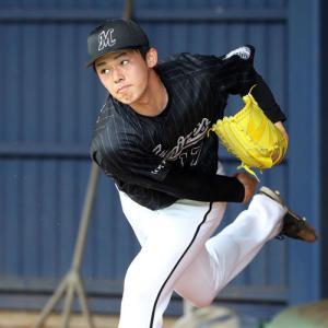 【野球】ロッテ・佐々木朗希、プロ2度目のブルペン入り 練習試合相手の中日投手陣が見学に殺到