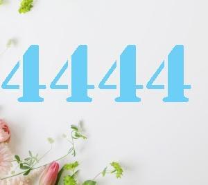 【4444】エンジェルナンバー「4444」の意味とメッセージ*努力が報われる時の訪れをサポート:恐れは必要がありません。