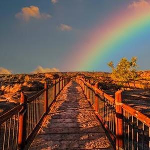 雨が降るから、虹が出る【レイニーシーズン】