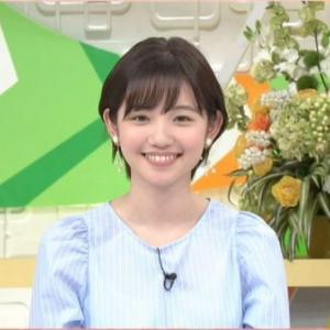 田中瞳アナがショートカットにイメチェンした姿がかわいいと話題に!