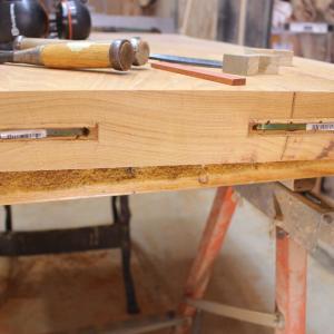 欅の座卓テーブル