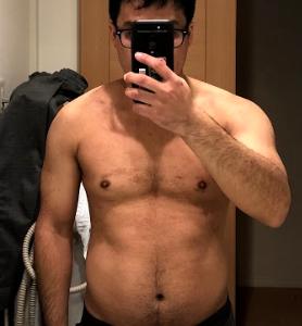 無理せずダイエット1日目「サラリーマン健康と筋肉の記録」