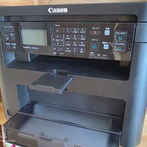 在宅勤務に!家庭用レーザープリンター  Canon Satera MF232wを購入しました