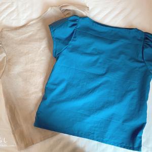 1mでできる!「甘い服」から袖山ギャザーのパフスリーブトップを作りました