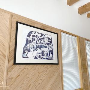 ニトリの木製ポスターフレームマット付が安くておすすめ!