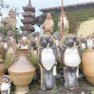 朝ドラ「スカーレット」が舞台になった、陶芸のまち信楽を観光しました