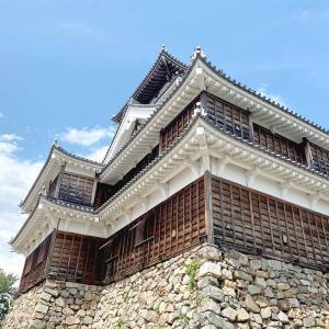 明智光秀が城主だった福知山城に行きました