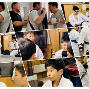 【札幌 西岡南小学校から徒歩10分 空手】体験のお友達も‼️楽しく強くなります😃
