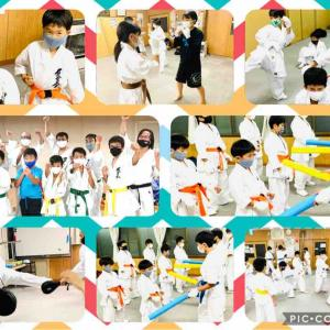 【西岡福住の空手教室】今日からオープン‼️石狩教室・花川中央会場‼️札幌メンバーたちも元気に頑張りました😃