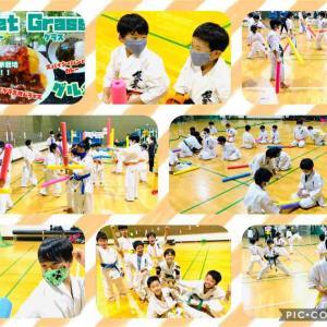 【札幌市豊平区の空手教室】今回も元気に稽古❗️新メンバーさんも増えて頑張っています😊