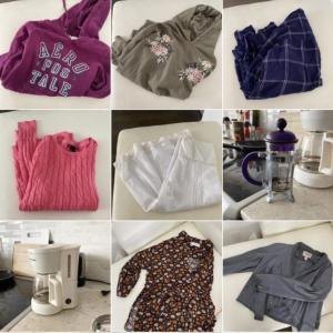 留学帰国準備のパッキング方法といらなくなった服などをカナダで売る方法