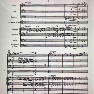 替え指考 ハイドン交響曲第6番「朝」