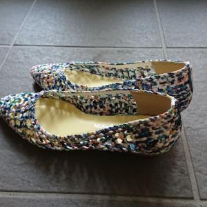 パッと目についた靴