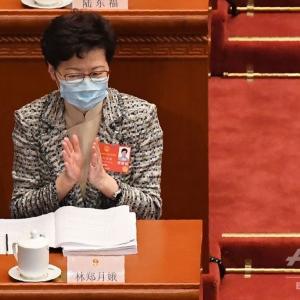香港の所謂自由派は捨て駒になったシナリオ