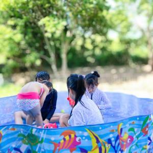 【夏のプール】忙しい日でも子どもは楽しく!ママはラク♡に、プールができる理由は?