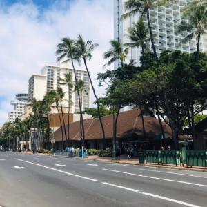 ハワイを満喫する 沖縄を守る