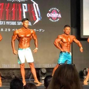Tokyo Pro Men's Physique Super Show 結果