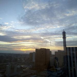 今日の夕陽も格別だったわぁ~