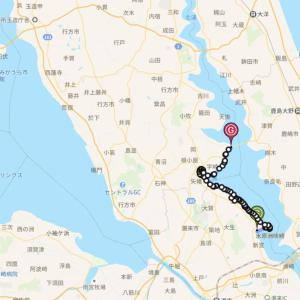 北浦サイクリング 北浦白鳥飛来地〜北浦大橋