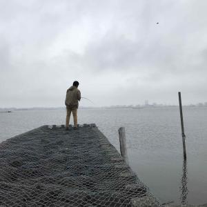 霞ヶ浦の釣り アメリカナマズ