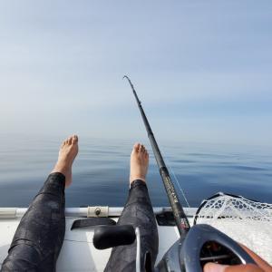 【釣行記事&YouTubeアップ】二馬力ゴムボートで根魚&タイラバで五目釣り