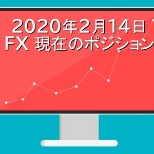 【FXポジション公開】スイングトレード:2020年2月14日