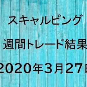 【FXトレード結果公開】スキャルピング:2020年3月27日